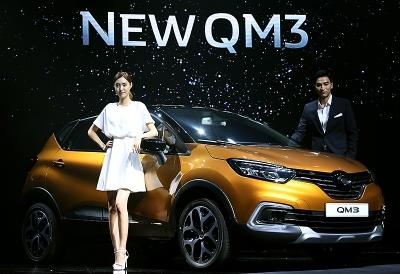 르노삼성자동차, SM6-QM6 패밀리룩 적용한 '뉴 QM3' 출시