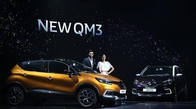 르노삼성자동차, 고급 사양 추가한 '뉴 QM3' 출시