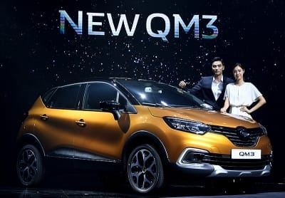 르노삼성자동차, CUV '뉴 QM3' 출시