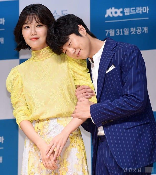 그룹 소녀시대 수영, 배우 심희섭 / 사진=최혁 기자