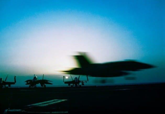 美 B-1B 2대, 한반도 비행…
