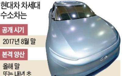 현대차, 580㎞ 달리는 수소차 8월 조기 공개