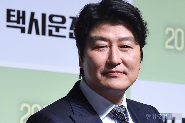 영화 '택시운전사' 주연 배우 송강호. / 사진=변성현 한경닷컴 기자