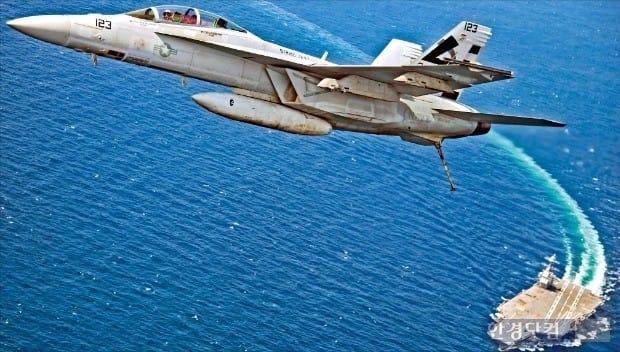 미국 전투기 슈퍼호넷(F/A-18). / 사진=한경 DB