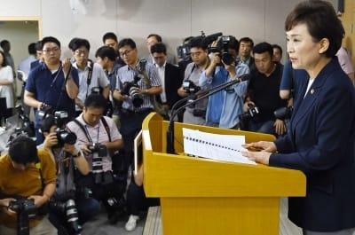 """한국당 """"시장을 이기는 정부는 없다"""" 문재인 정부의 8·2 부동산 대책 비판"""