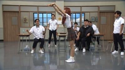 '아는 형님' 블랙핑크 리사, 태국 최신 유행 '택시 댄스' 전파
