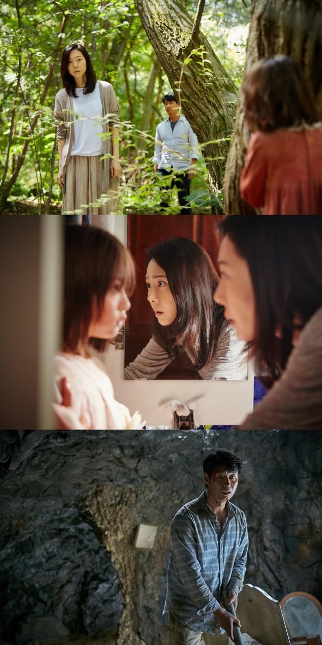 영화 '장산범' 염정아 박혁권 신린아