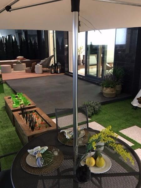 전용 84㎡A의 정원형 테라스. 한화건설 제공