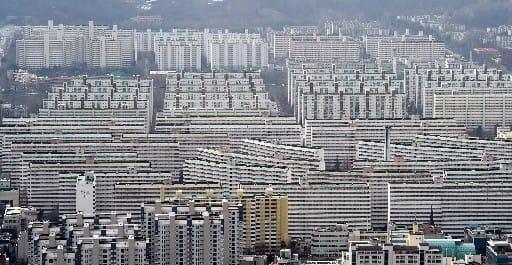 서울 대치동 은마아파트 전경.