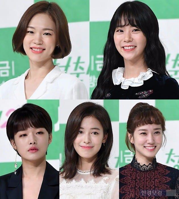 '청춘시대2' 한예리 한승연 박은빈 지우 최아라 /사진= 변성현 기자