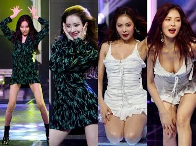 현아 vs 선미, 26살 동갑내기 섹시 대결