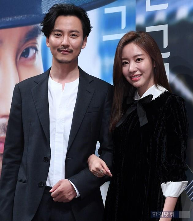 배우 김남길, 김아중 / 사진=최혁 기자