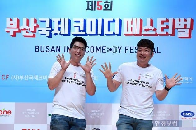 코미디언 정범균, 김재욱 / 사진=최혁 기자