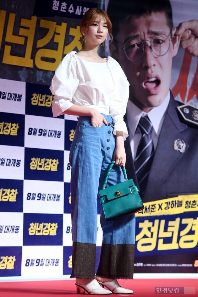 모델 김진경 / 사진=최혁 기자