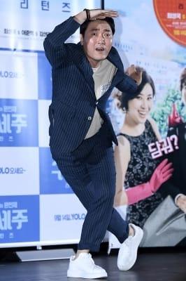 이준혁, '익살스러운 포즈~'