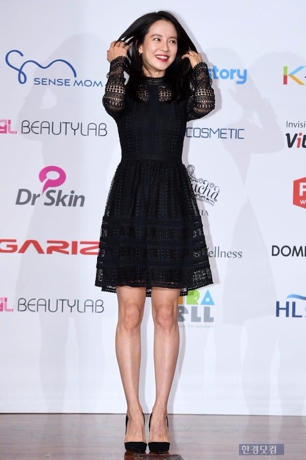 배우 송지효 / 사진=최혁 기자