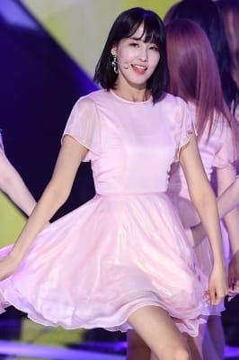 프리스틴 유하, '사랑스러운 미소~'