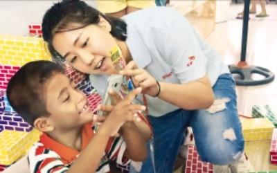 SK, 베트남 얼굴기형 어린이 무료 수술