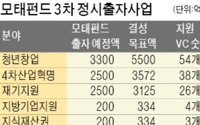 """[마켓인사이트] """"추경 8000억 잡아라""""…벤처캐피털, 펀드 설립 '붐'"""