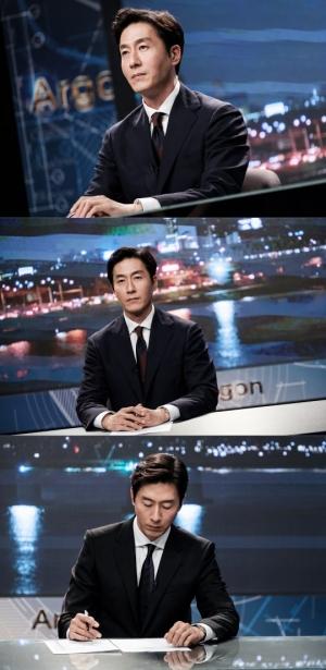 '아르곤' 김주혁, '구탱이형'은 잊어라...국민 앵커로 완벽 변신