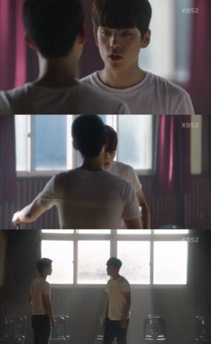 '학교 2017' 장동윤, 김정현과 몸싸움