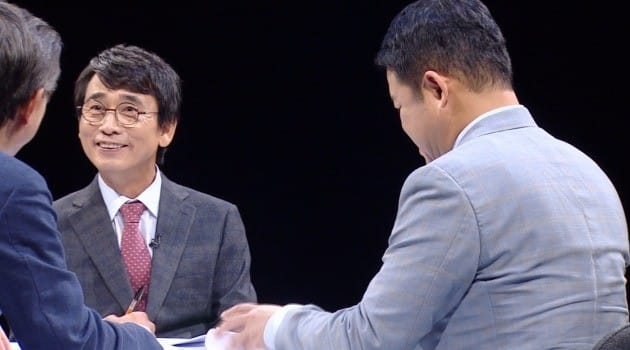 유시민 작가 / 사진 제공=JTBC 토크쇼 '썰전'