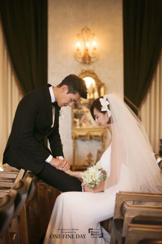송재희 지소연 결혼식 사진