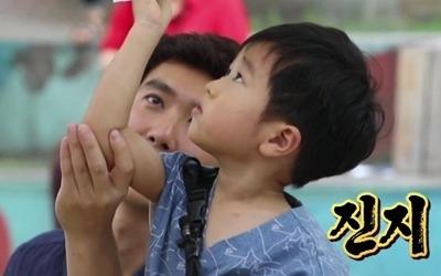 '슈퍼맨' 승재, 장사 수완 발휘…'똘똘한 사랑둥이'
