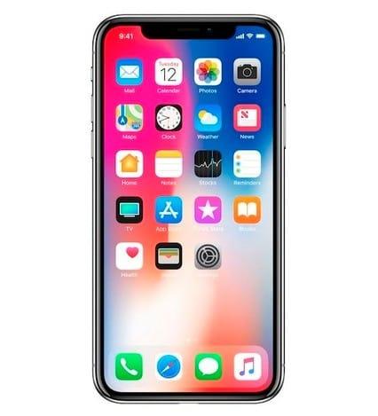 애플이 한국시간으로 13일 새벽 공개한 아이폰X.