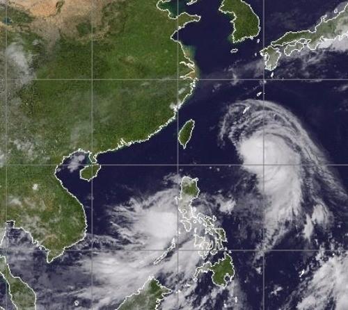 태풍 탈림 북상