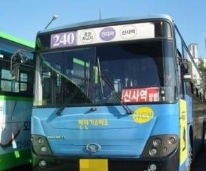 240번 버스 논란 / 'KD버스 매니아의 블로그' 캡처