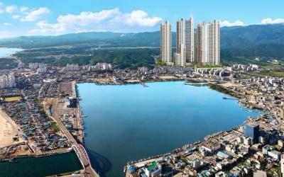 앞은 동해바다 뒤는 설악산…일신건영, '속초 조양동 휴먼빌' 내달 분양