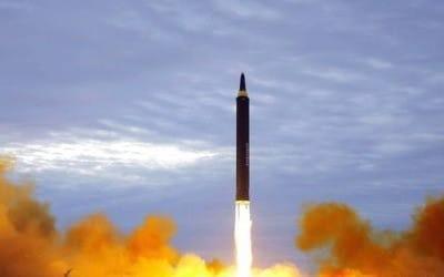 북한 미사일 시험 발사 <자료사진>