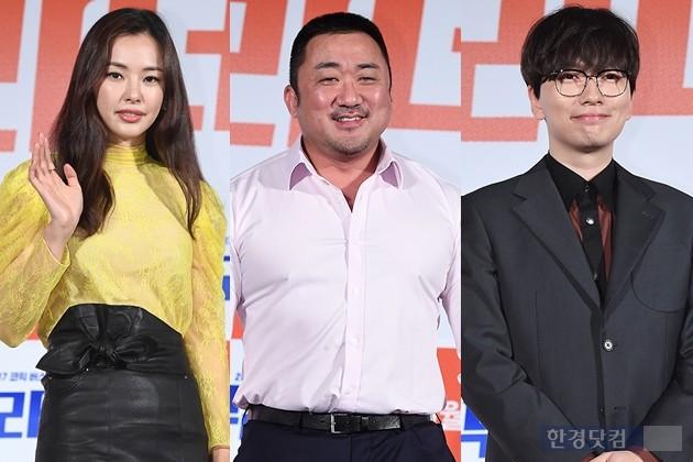 영화 '부라더' 마동석 이동휘 이하늬 /사진=변성현 기자