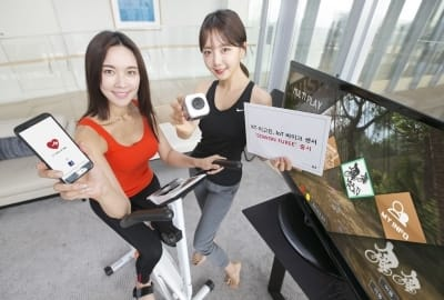페달에 붙이면 운동능력 측정…KT, IoT 자전거 센서 출시