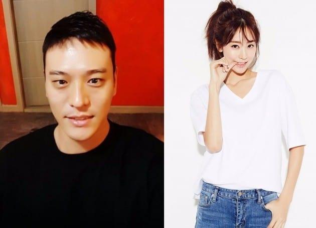 가수 김용준, 배우 박예슬 / 김용준 인스타그램, 달콤이앤엠 캡처