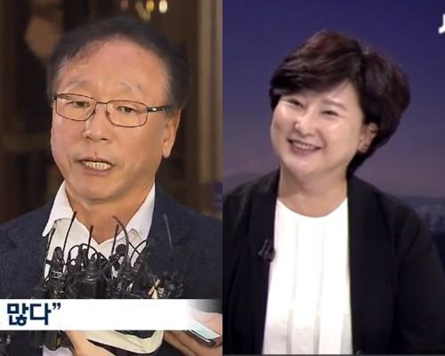 김광석 친형 김광복씨, 서해순씨 /사진=KBS, JTBC 화면 캡쳐