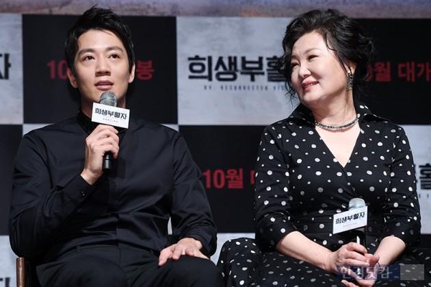 배우 김래원, 김해숙 / 사진=최혁 기자