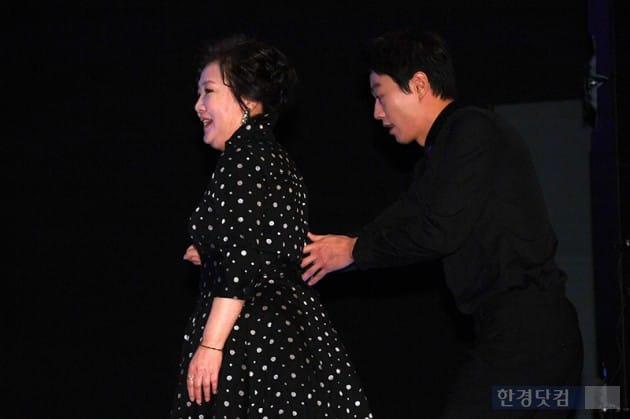 배우 김해숙, 김래원 / 사진=최혁 기자