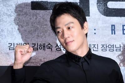 김래원, '힘차게 화이팅'
