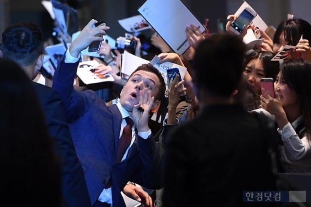 할리우드배우 태런 에저튼 / 사진=최혁 기자