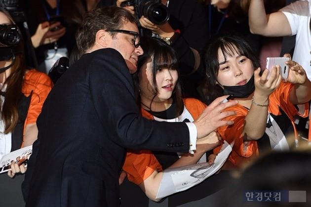 할리우드 배우 콜린 퍼스 / 사진=최혁 기자