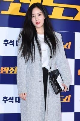 티아라 효민, '매력적인 레드립'