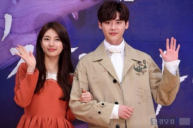 그룹 미쓰에이 수지, 배우 이종석 / 사진=최혁 기자