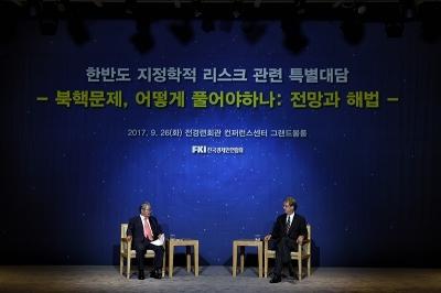 """존 체임버스 S&P 전 의장 """"북핵 문제 있지만 한국경제 튼튼"""""""