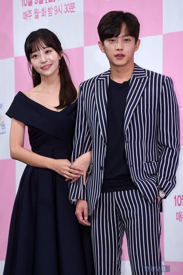 배우 김가은, 김민석 / 사진=최혁 기자