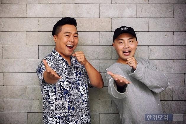 개그맨 이준형(왼쪽), 임준혁
