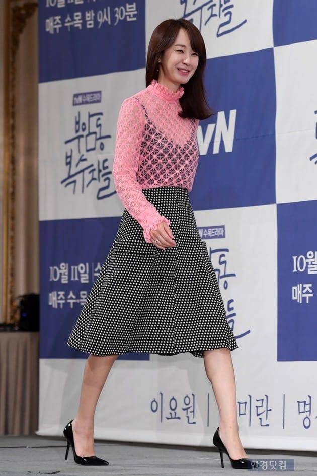 배우 명세빈 / 사진=최혁 기자
