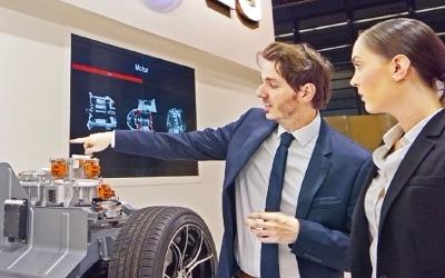 LG전자, 프랑크푸르트 모터쇼서 자동차 핵심부품 전시