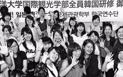 아시아나항공 찾은 일본 대학생 연수단